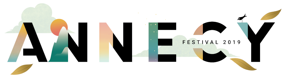 The official logo of Annecy festival 2019